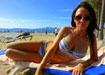 dovolená na pláži v Tunisku